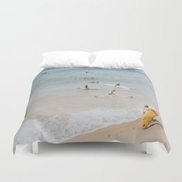 lets surf iii Duvet Cover