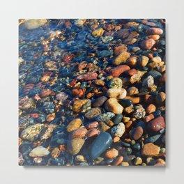 Lake Superior Rocks Metal Print