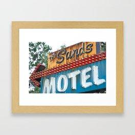 Sandy Shore Framed Art Print