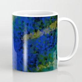 Peacock crystal mosaic Coffee Mug