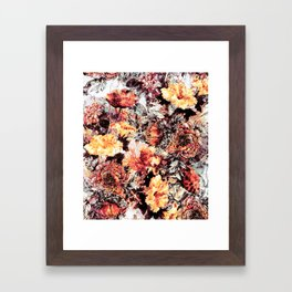 RPE FLORAL ABSTRACT Framed Art Print