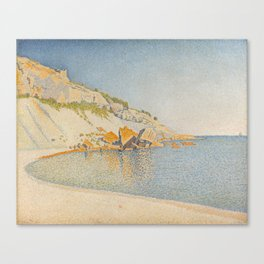 Cassis, Cap Lombard, Opus 196 Canvas Print
