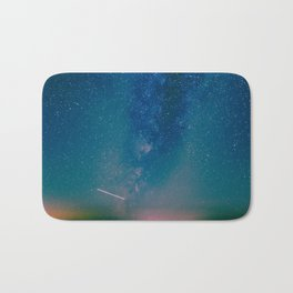 Desert Summer Milky Way Bath Mat