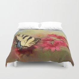 Spring Swallowtail Duvet Cover