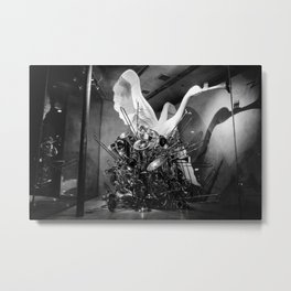 CHRISTMAS IN HOLLYWOOD - day nine b&w Metal Print