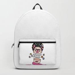 Woman Power - Frida Kahlo Backpack