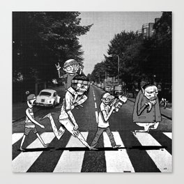 SCABBY RD. Canvas Print