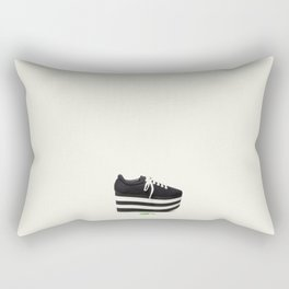 the past dreams of the adolescent Rectangular Pillow