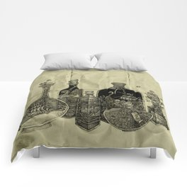 sea witch's cabinet Comforters