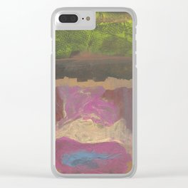 Dirty Water Clear iPhone Case