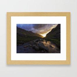 Llanberis Pass Framed Art Print