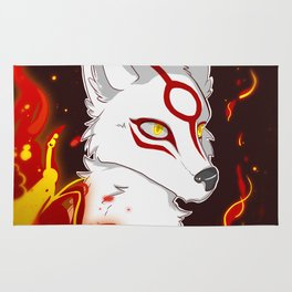 Amaterasu, Sun Goddess Rug