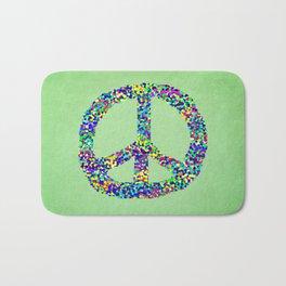 Peace Out Bath Mat