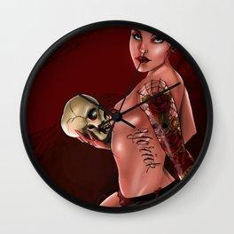 Yorick  Wall Clock