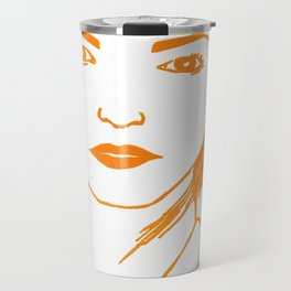 WUTHERING HEIGHTS - LINO (ORANGE VERSION)  Travel Mug