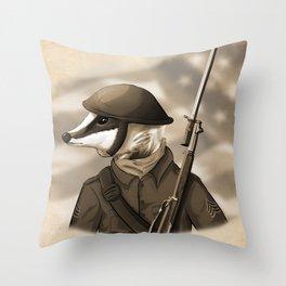 Sergeant Humphreys Throw Pillow