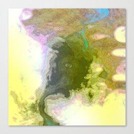 Seismic Waterway Canvas Print