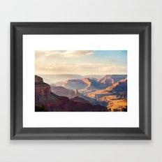 Grand Canyon at Sunset Framed Art Print