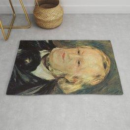 Richard Wagner (1813 – 1883) by Auguste Renoir (1841 - 1919) in 1882 Rug