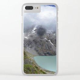 Montañas puras Clear iPhone Case