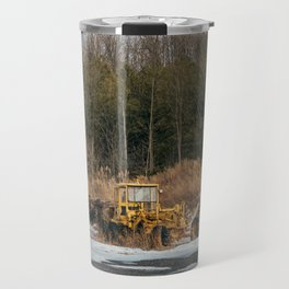 Abandoned Construction Vehicle Travel Mug