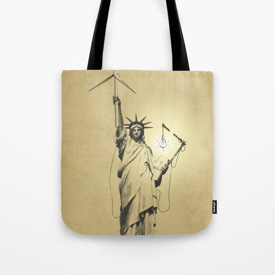 And then there was light Tote Bag