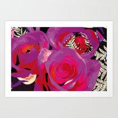 Flowers series_v02 Art Print
