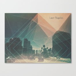 lost angeles. Canvas Print