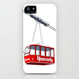 Heavenly Cable Car iPhone Case