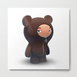 Bear boy Metal Print