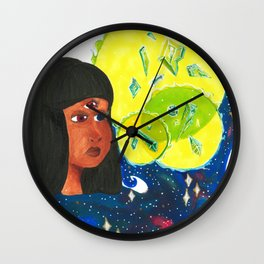 Crystal Gem Wall Clock