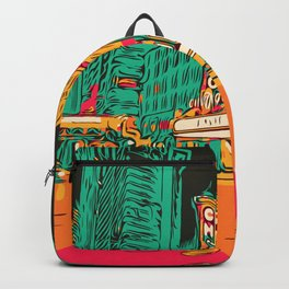 Chicago Theater Comic Art Backpack