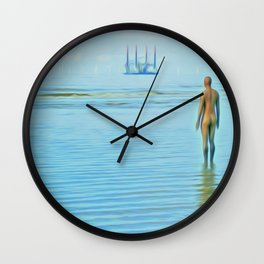 Time Passing Wall Clock