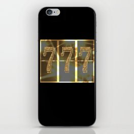 Wonderful picture as a gift for good luck! iPhone Skin