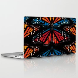 Colorful butterflies art print Laptop & iPad Skin