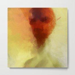 The Alien by Raphael Terra Metal Print