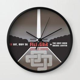 Live in Washington DC Wall Clock