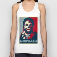 chewbacca Tank Tops featuring Chewbacca  by Ilustrachii