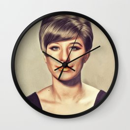 Barbra Streisand, Hollywood Legend Wall Clock