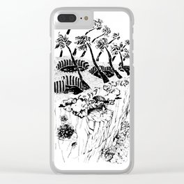 Foyer sauvage - Wild house Clear iPhone Case