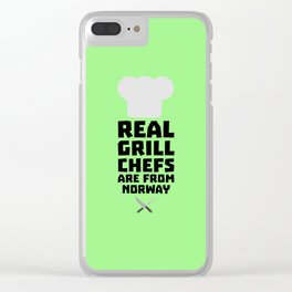 Real Grill Chefs are from Norway T-Shirt D8cv1 Clear iPhone Case
