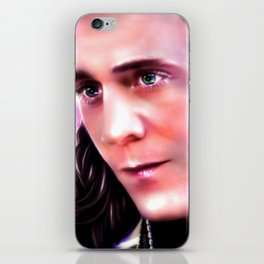 Loki - Burdened with Glorious Purpose XX iPhone Skin