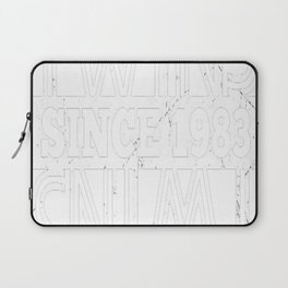 Twins-Since-1983---34th-Birthday-Gifts Laptop Sleeve