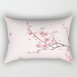 Oriental cheery blossom in spring 006 Rectangular Pillow