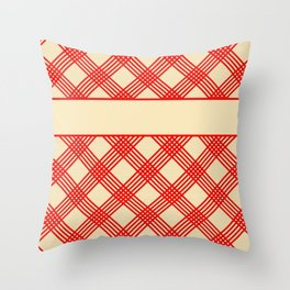 The Old Family Cookbook Throw Pillow