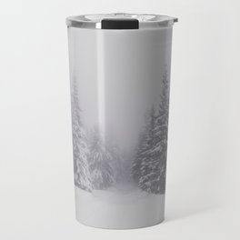 Winter walk - Landscape and Nature Photography Travel Mug