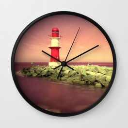 Lighthouse I Wall Clock