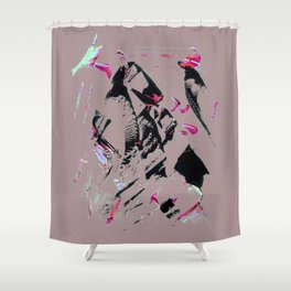 faze pink Shower Curtain