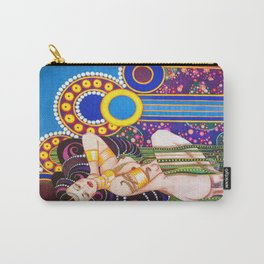 African Klimt Carry-All Pouch