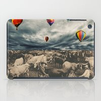 balloons iPad Cases featuring Balloons by Mrs Araneae